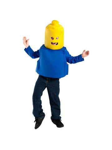 Child Building Block Man Costume