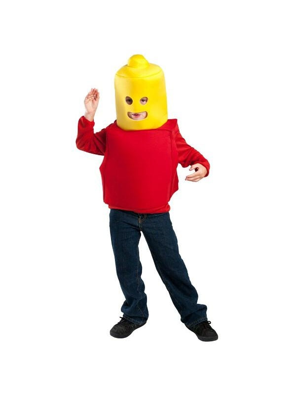 Child Building Block Man Costume-COSTUMEISH
