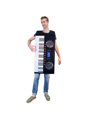 Adult Piano Keyboard Costume-COSTUMEISH