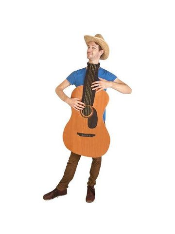 Adult Guitar Costume-COSTUMEISH