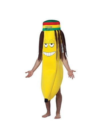 Adult Rasta Banana Costume-COSTUMEISH