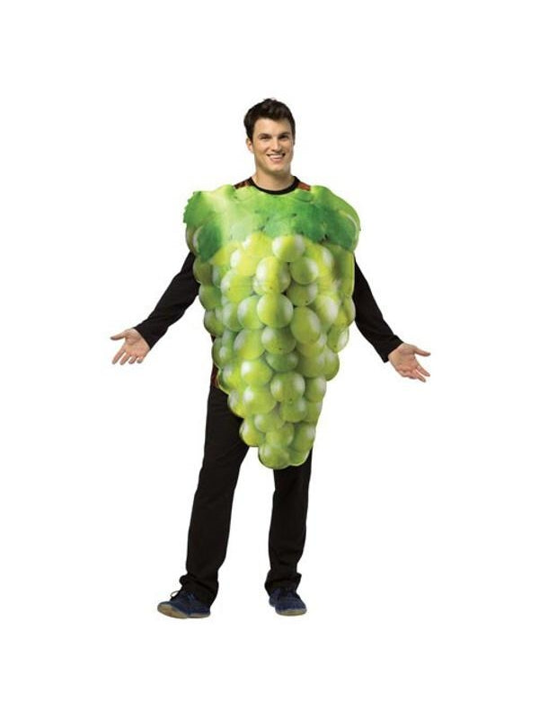 Adult Get Real Green Grapes Costume-COSTUMEISH
