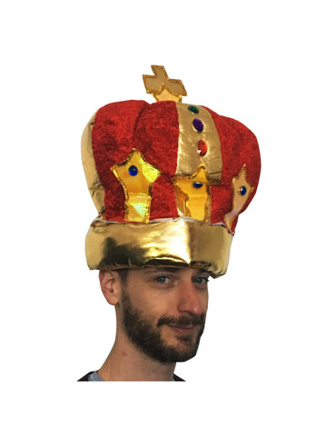 Plush King's Crown-COSTUMEISH