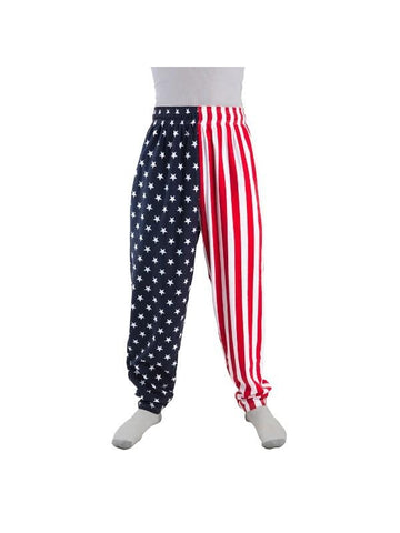 Adult American Flag Pants-COSTUMEISH