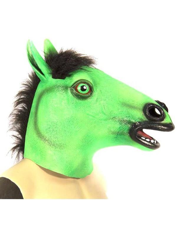 Colorful Horse Costume Mask-COSTUMEISH