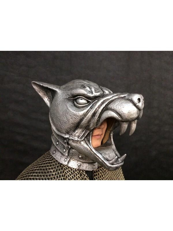 Medieval Armored Hound Mask-COSTUMEISH