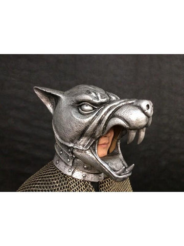 Medieval Armored Hound Mask