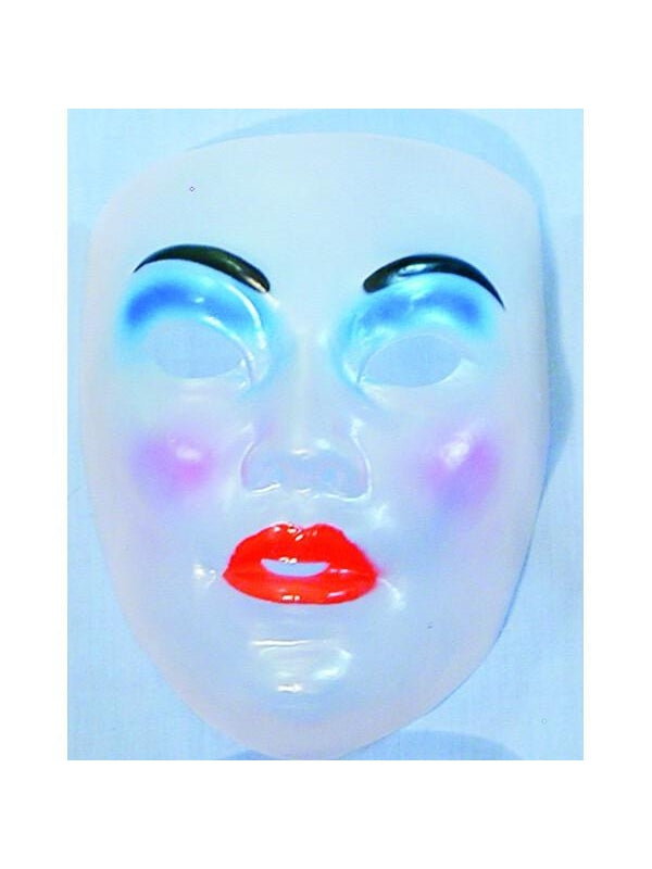 Transparent Drama Masks-COSTUMEISH