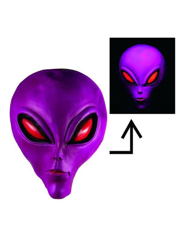 Glow in the Dark Alien Masks