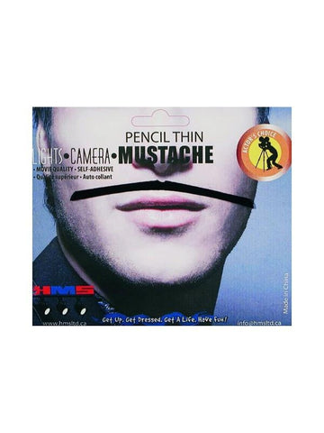 Black Pencil Mustache-COSTUMEISH