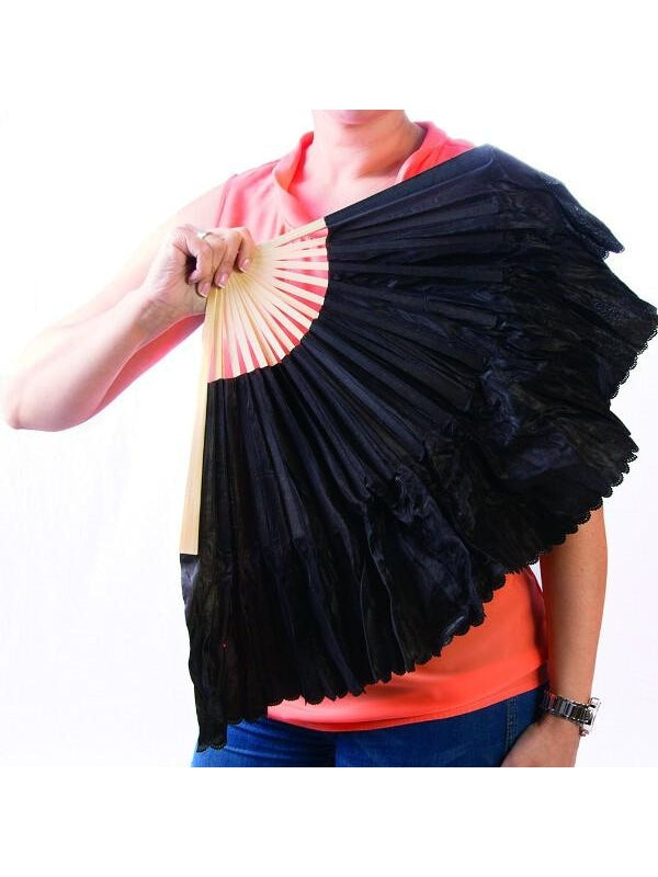 Folding Burlesque Fans-COSTUMEISH