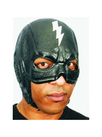 Black Thunderbolt Superhero Headpiece-COSTUMEISH