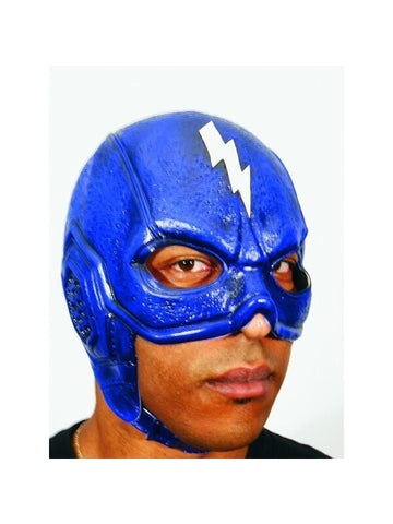 Blue Thunderbolt Superhero Headpiece
