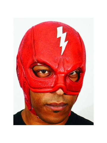 Red Thunderbolt Superhero Headpiece