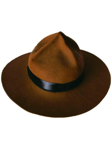 Brown Canadian Mountie Hat