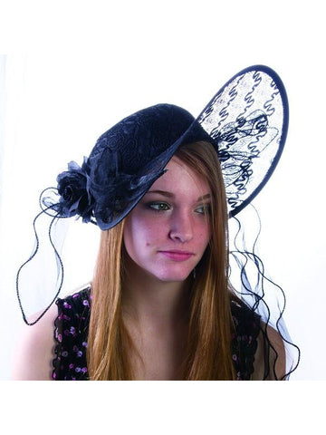 1920's Derby Style Costume Hat