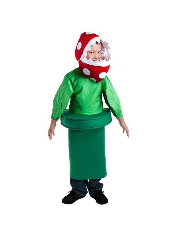 Child Piranha Plant Costume-COSTUMEISH
