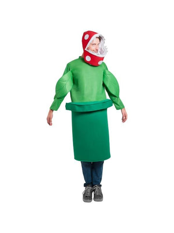 Adult Piranha Plant Costume-COSTUMEISH