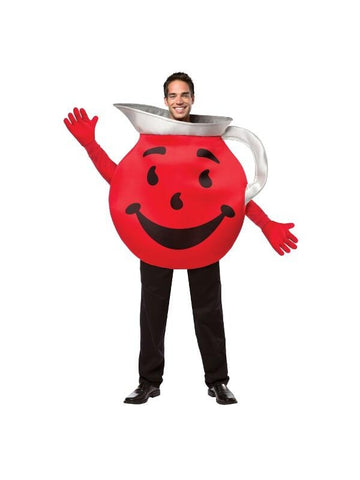 Adult Red Kool-Aid Costume-COSTUMEISH