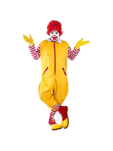 Adult Ronald the Clown Costume-COSTUMEISH