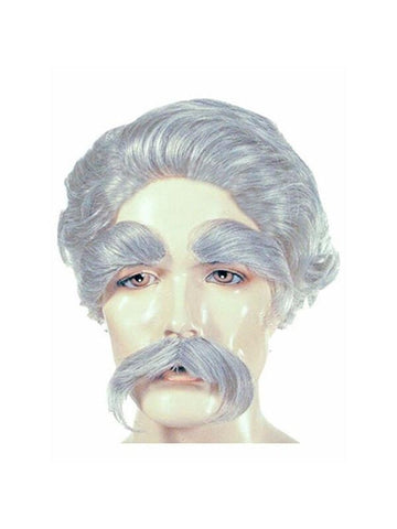 Men's Mark Twain Costume Wig