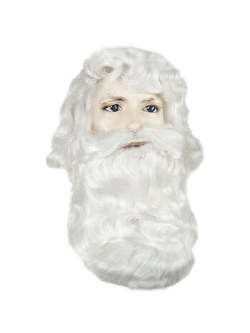 Men's Classic Santa Clause Wig And Beard Set