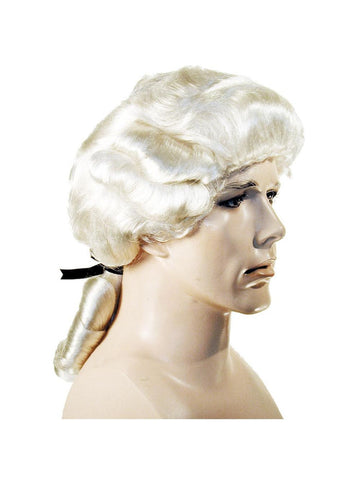 Men's Deluxe Samuel Adams Colonial Wig