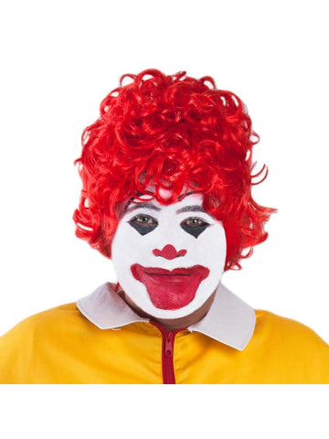 Red Fast Food Clown Wig-COSTUMEISH