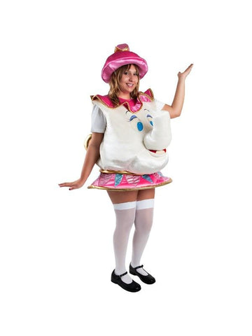 Child Mrs Potts Costume-COSTUMEISH