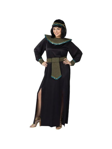 Adult Plus Size Midnight Cleopatra Costume