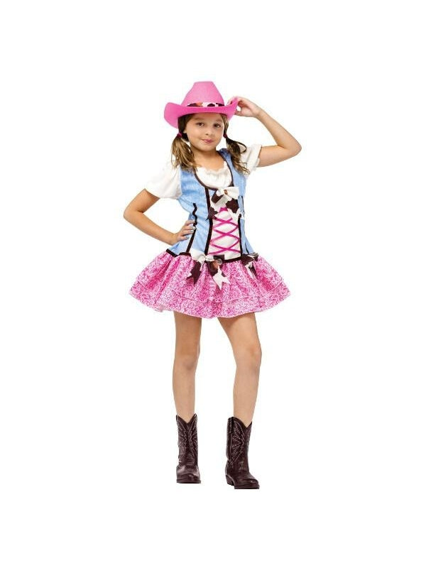Child Rodeo Sweetie Costume-COSTUMEISH