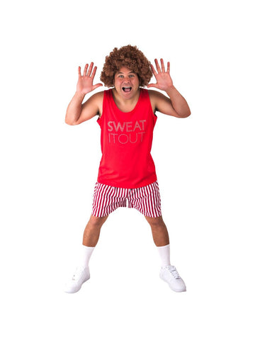 Adult Sweat It Out Costume