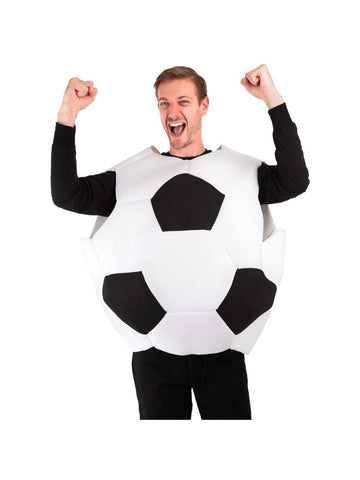 Adult Soccer Ball Costume-COSTUMEISH