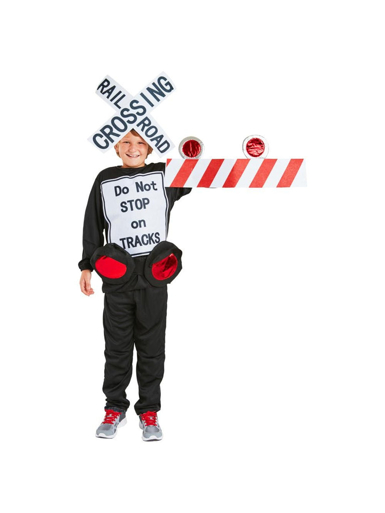Child Railroad Train Crossing Costume-COSTUMEISH