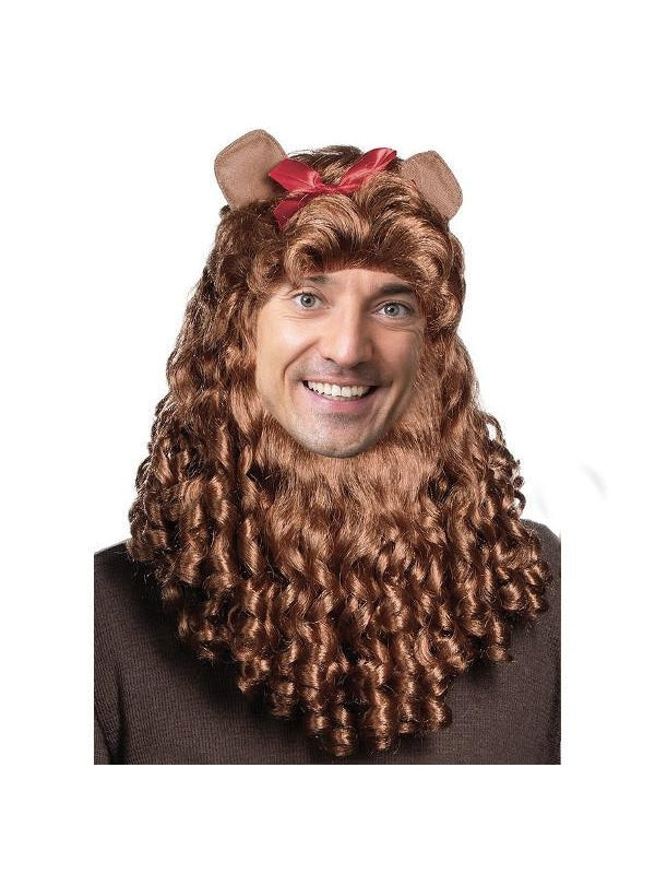 Cowardly Lion Wig-COSTUMEISH
