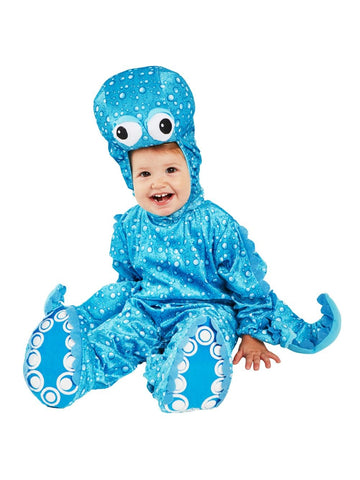 Baby Blue Octopus Costume