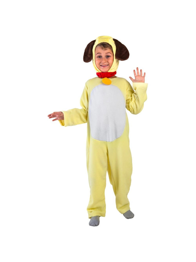 Toddler Yellow Dog Costume-COSTUMEISH