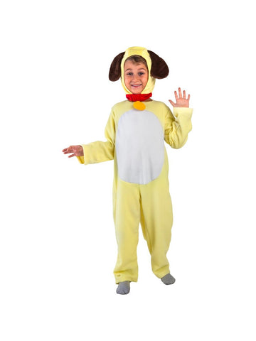 Toddler Yellow Dog Costume