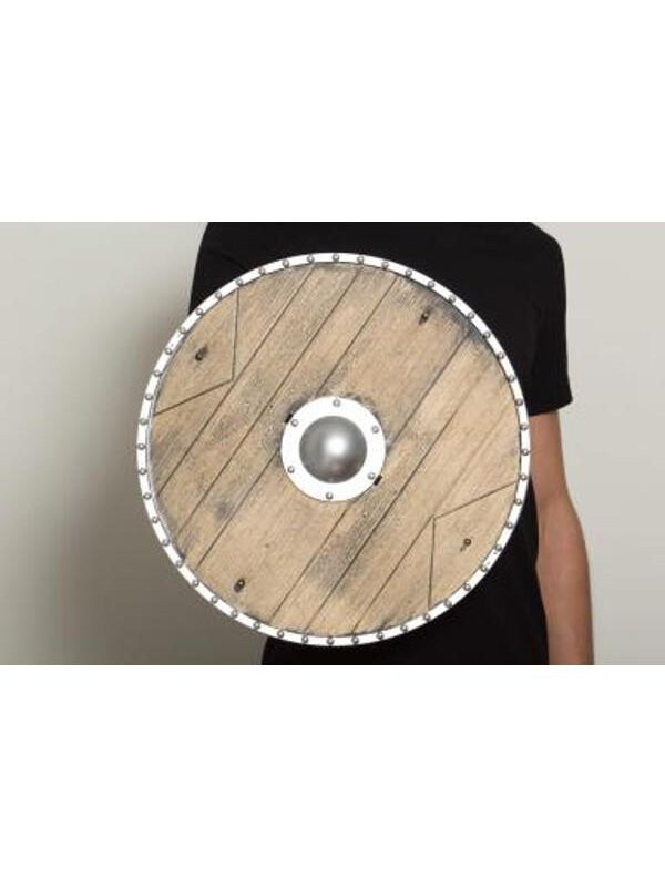 "18"" Replica Wood Knight's Shield-COSTUMEISH"
