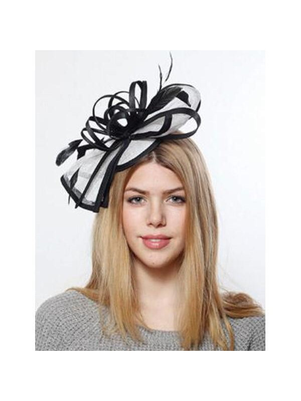Sinamay Fascinator-COSTUMEISH