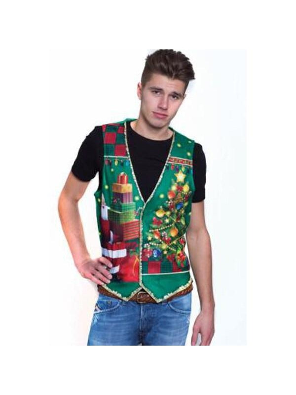 Guy's Ugly Christmas Vest-COSTUMEISH