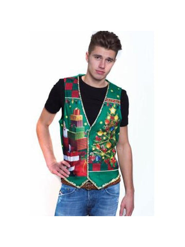 Guy's Ugly Christmas Vest