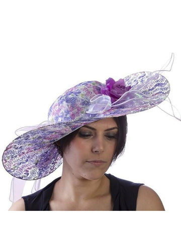 Purple Passion Derby Hat-COSTUMEISH