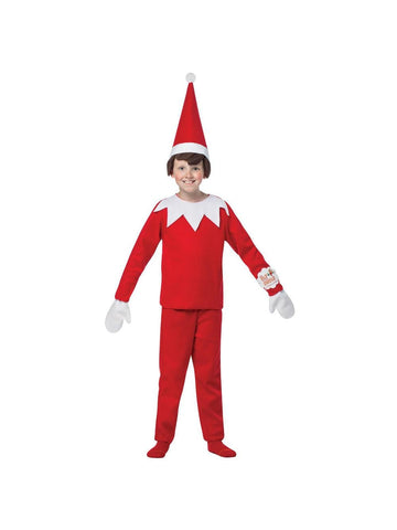 Child Elf on the Shelf Christmas Costume