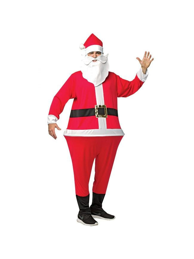Men's Santa Clause Hoopster Costume-COSTUMEISH