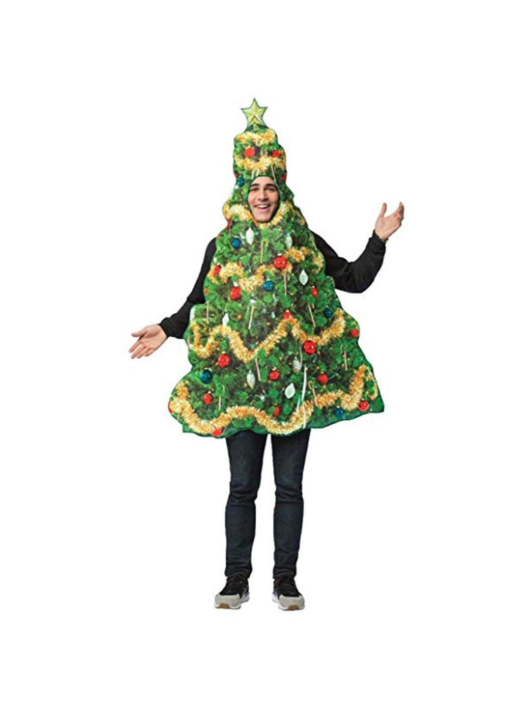 Get Real Christmas Tree Adult Costume-COSTUMEISH