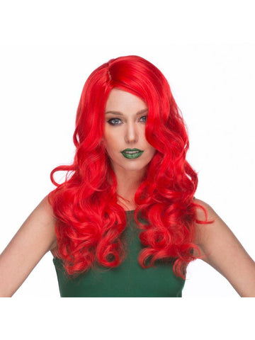 Long Red Wig With Curls