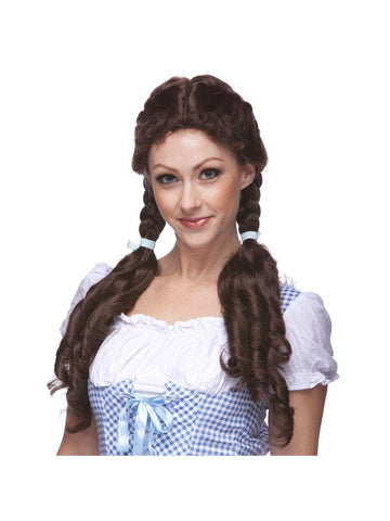 Brown Dorothy Country Girl Wig