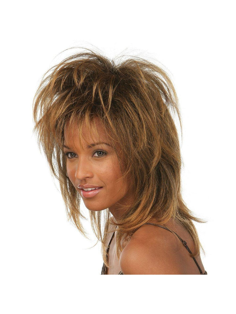 Brown Tina Fade Wig-COSTUMEISH