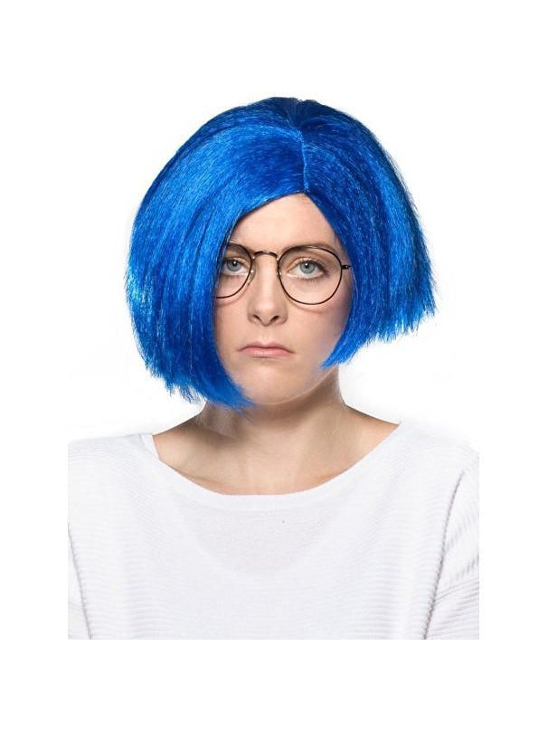 Women's Blue Sadness Short Hair Wig-COSTUMEISH